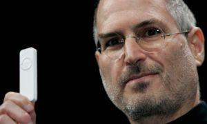 Steve Jobs, a famous dyslexic. Photograph: James Leynse/Corbis